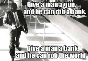Smart Men - how to rob the world