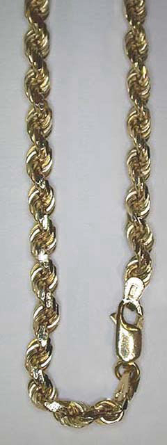 Rope - Diamond Cut Chains