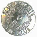 blue knights silver badge texas #17