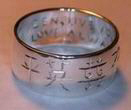Chinese Character ring