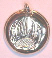 Cougar paw - Double disc - 2 sided pendants