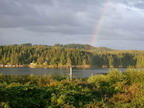 hardy bay port hardy bc rainbows