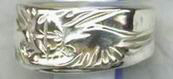 cast eagle head ring